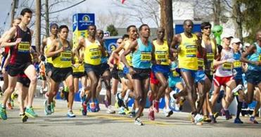 The field of elite men's runners started at 10 a.m.